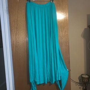 Rebdolls Dresses - Rebdolls Aqua convertible maxi dress